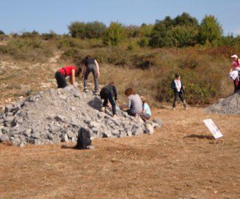 2011-09 - portes ouvertes lafarge - fouilles - enfants 3